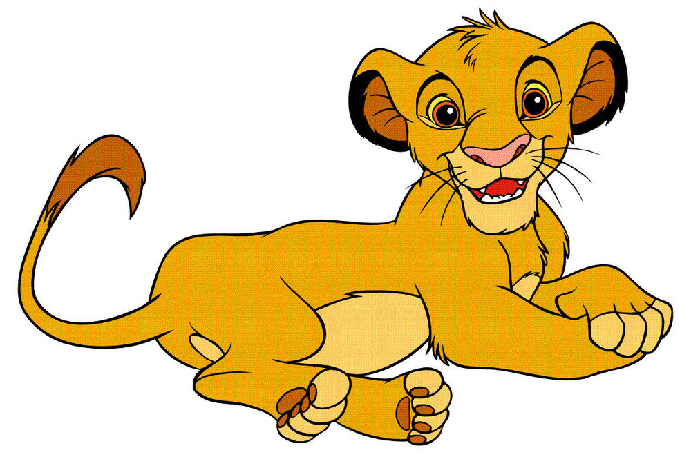 7105quot disney lion king simba wall safe sticker character