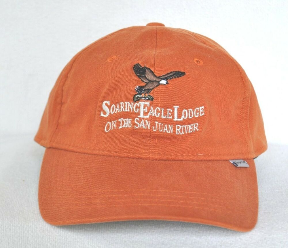 Soaring eagle lodge san juan river fly fishing fitted l xl for Fitted fishing hats