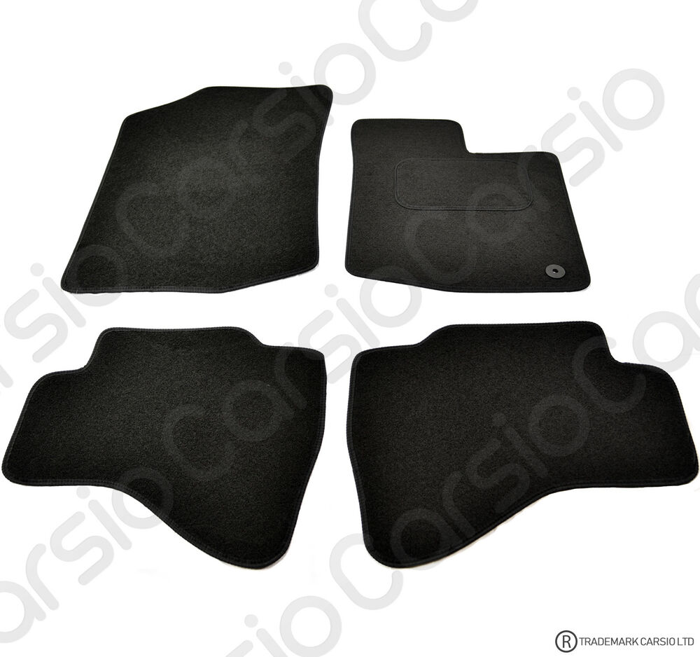 Toyota Aygo 2005 2014 Tailored Black Car Floor Mats