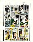 1989 Avengers 309 page 22 original Marvel Comics color guide art: She-Hulk/Sersi