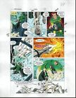1991 Avengers 332 page 22 original Marvel Comics color guide art: Dr Doom/1990's