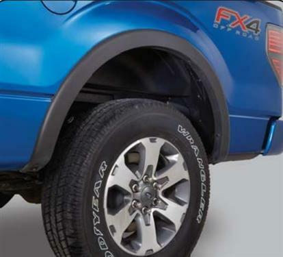 For Ford F250 Super Duty 7010260x Wheel Well Liners Rear