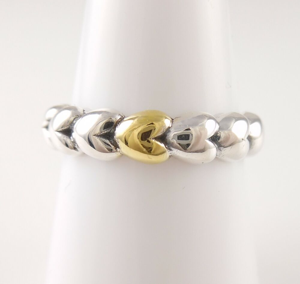 Heart Rope Wrap Ring
