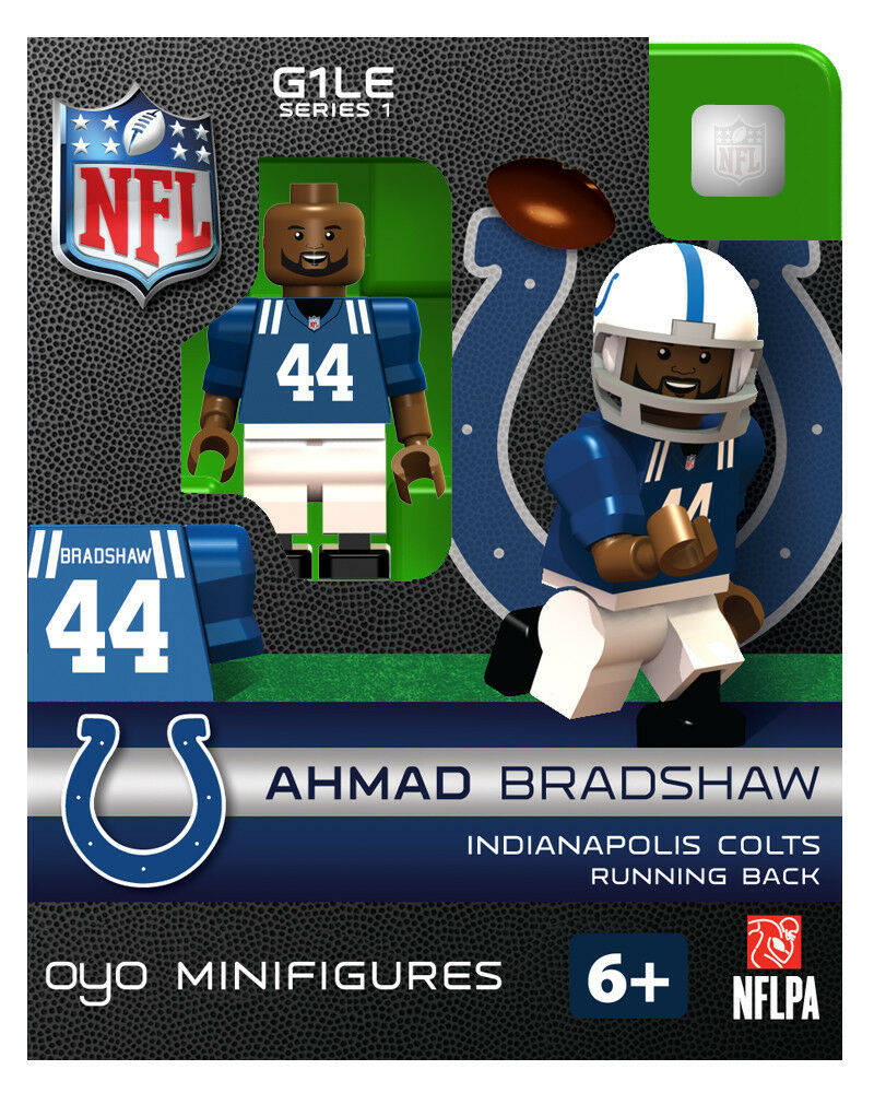 Ahmad Bradshaw Oyo Indianapolis Colts Nfl Football Figure