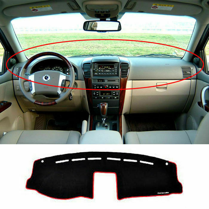 2003 2009 sorento dashboard dash sun cover pad mat carpet car interior ebay. Black Bedroom Furniture Sets. Home Design Ideas