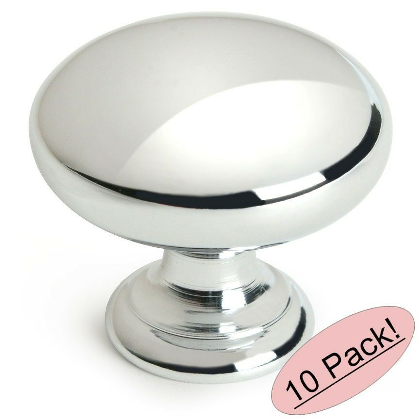 Glkitchen Cabinet Hardware: *10 Pack* Cosmas Cabinet Hardware Polished Chrome Knobs