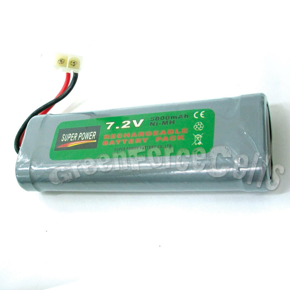 1 pcs 7 2v 5000mah ni mh rechargeable battery pack rc ebay. Black Bedroom Furniture Sets. Home Design Ideas