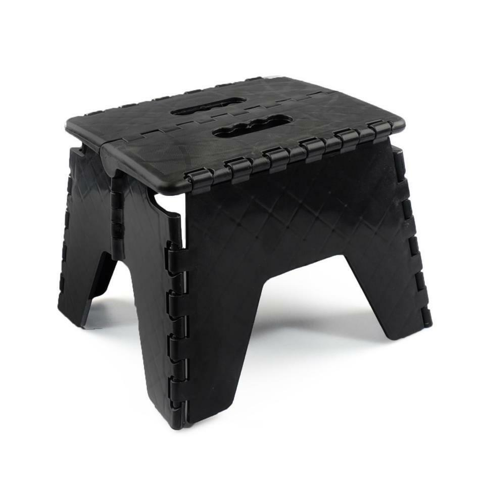 Fold Away Easy Folding Step Stool Chair Seat Multi Purpose