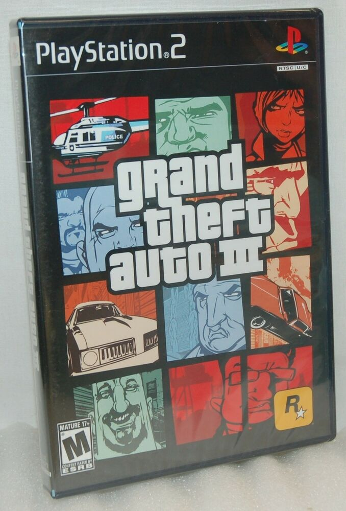 Sell Games For Ps2 : Sealed new playstation grand theft auto iii video game