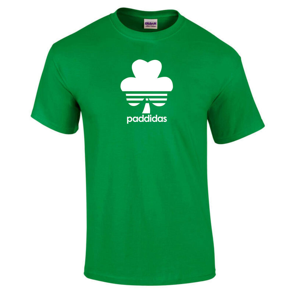 d5cc0cf1c Details about Paddidas Spoof Funny St Patrick's Day Irish St Paddy's Paddy T -Shirt up to 5XL