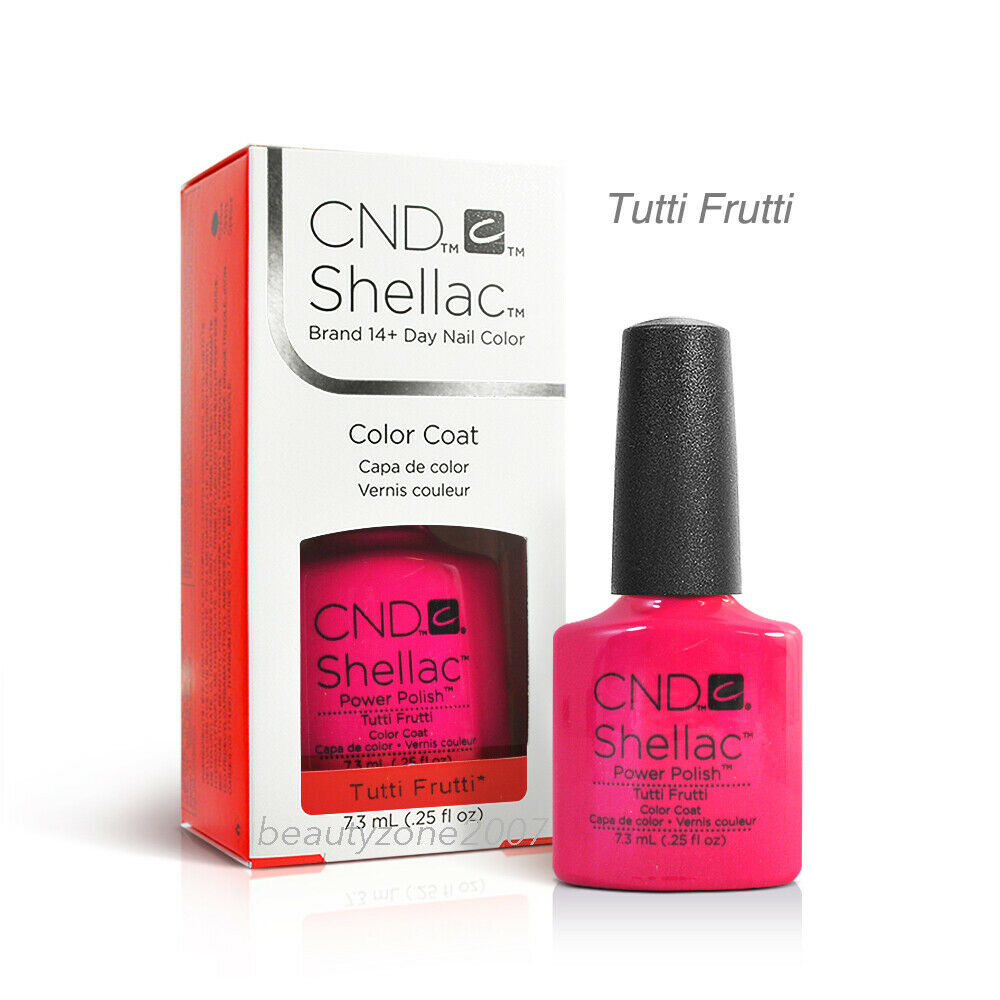 Tutti Frutti Nails: CND Shellac UV Gel Nail Polish Tutti Frutti 0.25oz