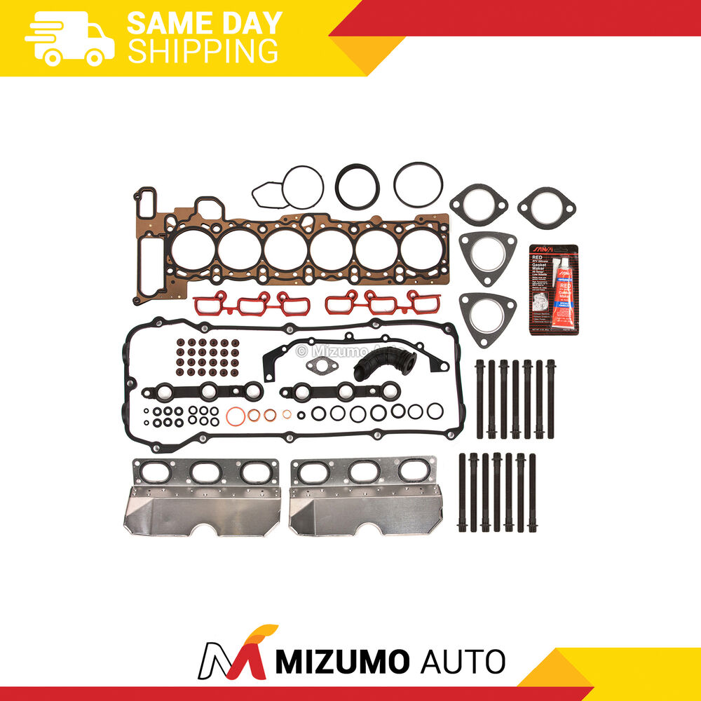 2012 Bmw X5 M Head Gasket: Head Gasket Bolts Set Fit 01-05 BMW 325i 530i X3 X5 Z4 2.5