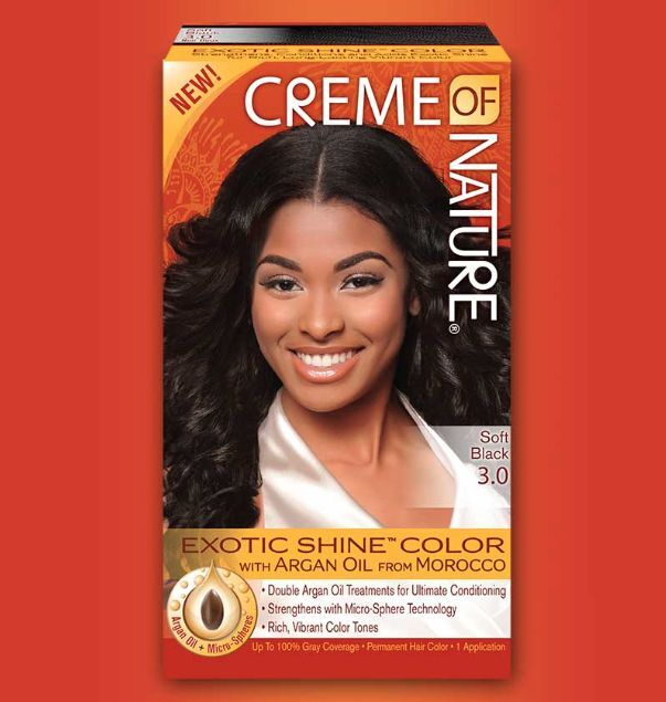 Creme Of Nature Exotic Shine Color W Argan Oil Permanent