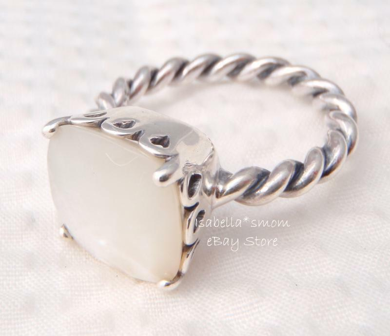 Mother Of Pearl Authentic Pandora White Elegant Sincerity