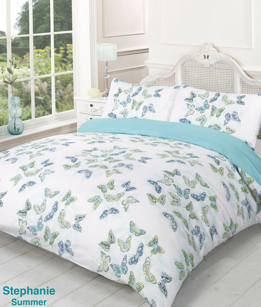 Super King Bed Size Stephanie Summer Butterfly Design