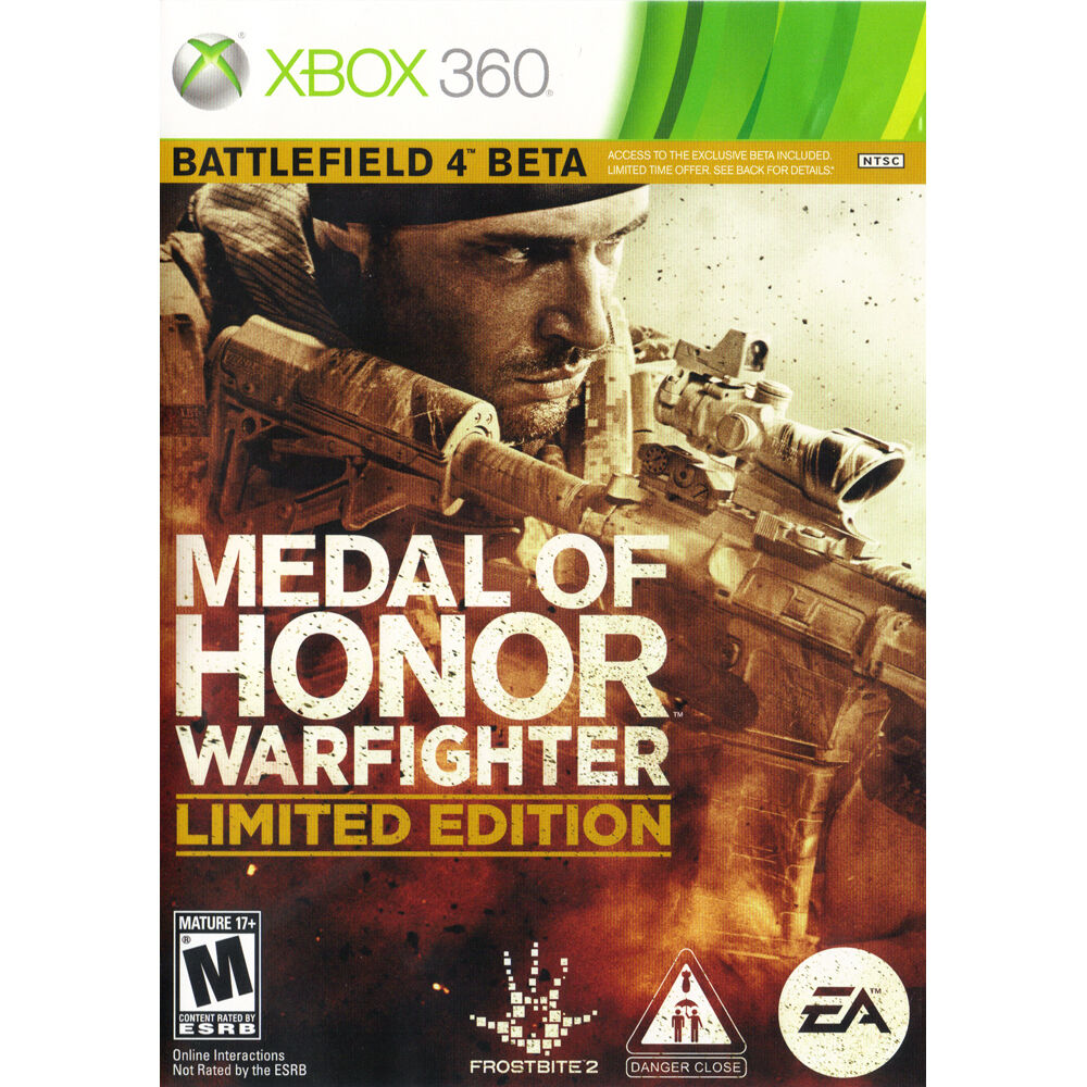 Medal Of Honor: Warfighter Limited Edition (Xbox 360, 2012