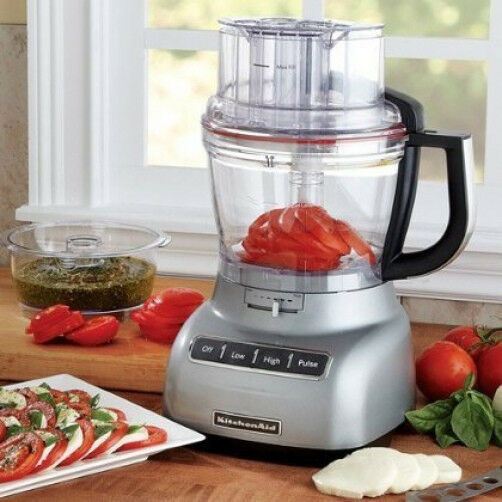 Kitchenaid 13 Cup 3 1l Wide Mouth Food Processor Silver Rr