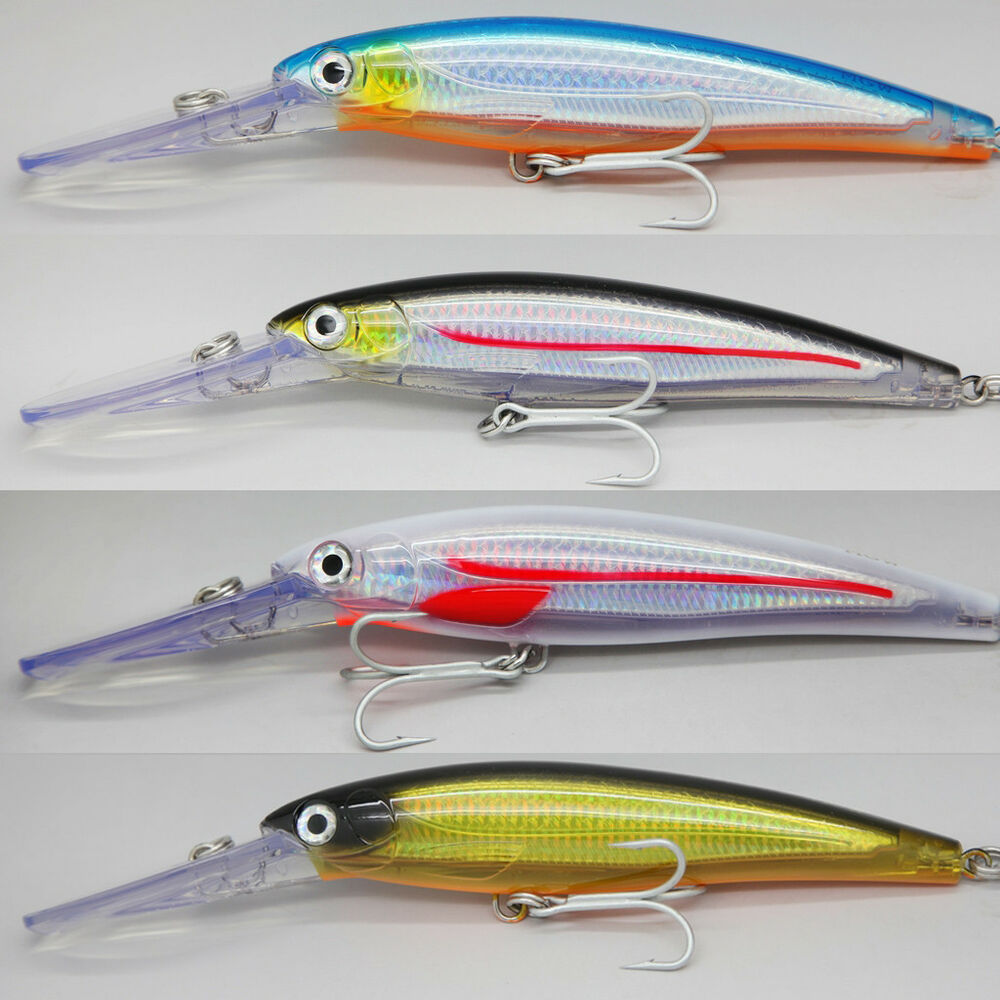 Heavy duty gt saltwater fishing lures minnow 200mm 117g for Saltwater fishing lures