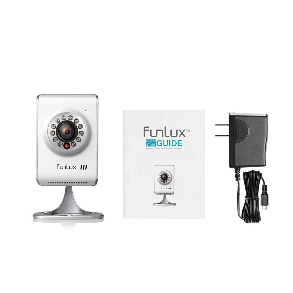 funlux 1280 720p hd wireless ip network two way audio home security camera ebay. Black Bedroom Furniture Sets. Home Design Ideas
