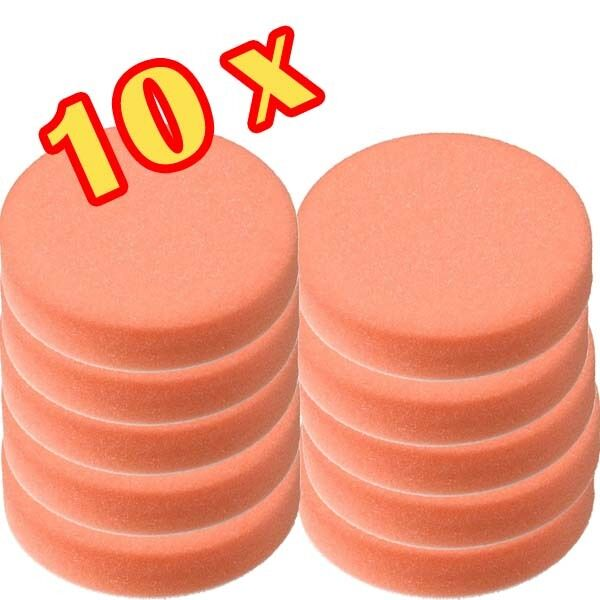 10 st ck 150mm craft equip polierschwamm polierpads orange. Black Bedroom Furniture Sets. Home Design Ideas