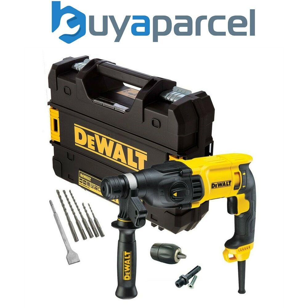 dewalt d25133k 240v sds plus 3 mode hammer drill 5 x sds. Black Bedroom Furniture Sets. Home Design Ideas