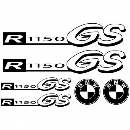 kit stickers autocollants moto bmw r 1150gs r f moto 011 ebay. Black Bedroom Furniture Sets. Home Design Ideas