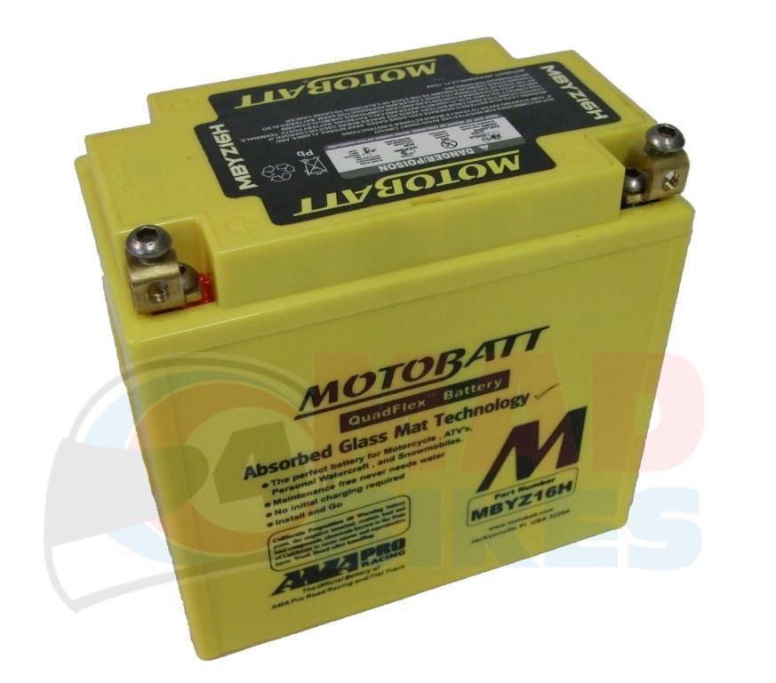 motobatt mbyz16h upgrade agm battery harley davidson 883 sportster 2004 14 ebay. Black Bedroom Furniture Sets. Home Design Ideas