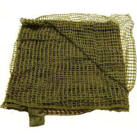 img-Army Military Army Scrim Sniper Veil Net Neck Head Scarf Surplus Shemagh Green