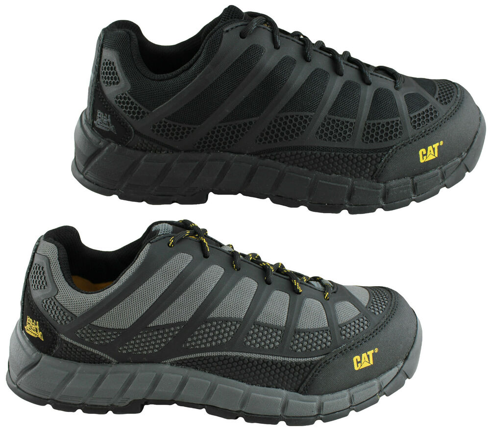 CATERPILLAR CAT STREAMLINE COMPOSITE TOE MENS WORK/SAFETY/INDUSTRIAL SHOES/BOOTS | EBay