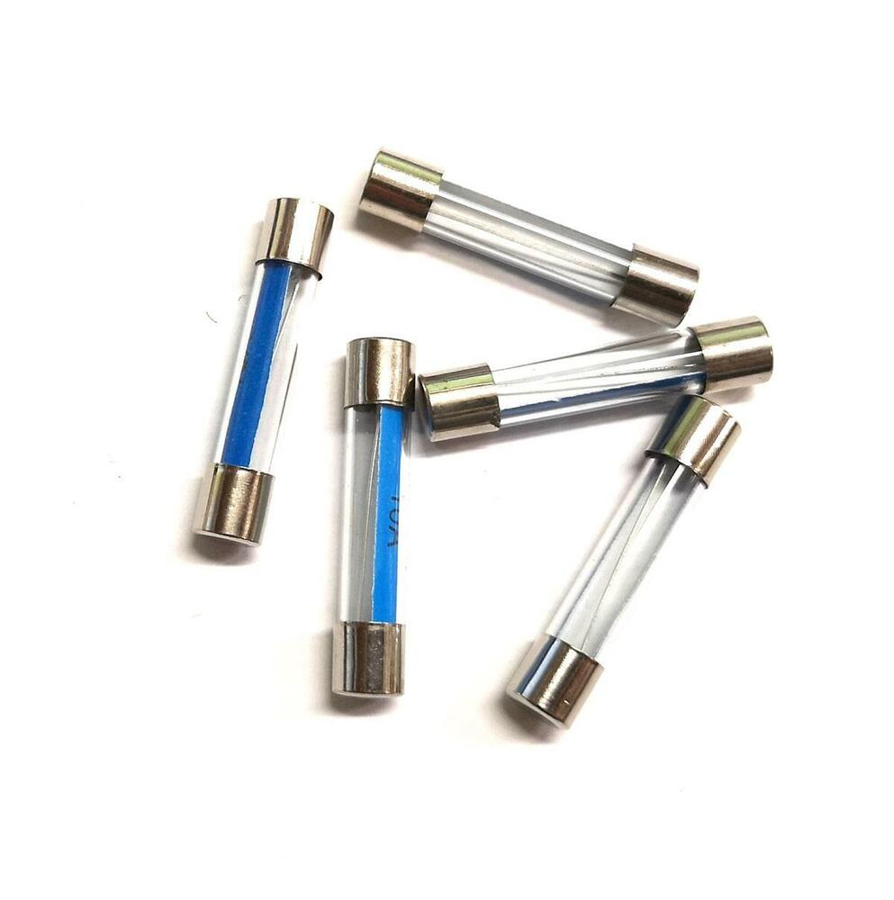 Glass Fuse Old Style Classic Car Van Mpv Home Fuses 12V