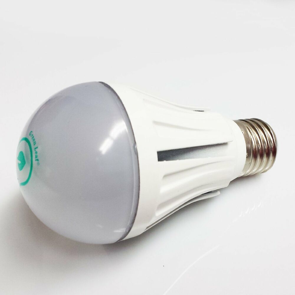 Green Leaf 9 Watt A19 Led Household Light Bulb Usa Seller 75w Replacement 4200k Ebay