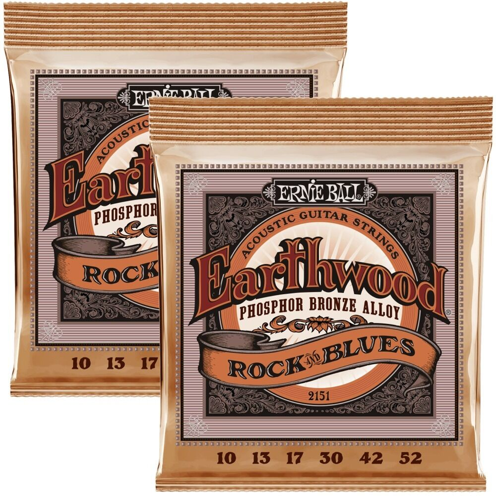 2 sets ernie ball 2151 hybrid slinky acoustic guitar strings 10 52 ebay. Black Bedroom Furniture Sets. Home Design Ideas