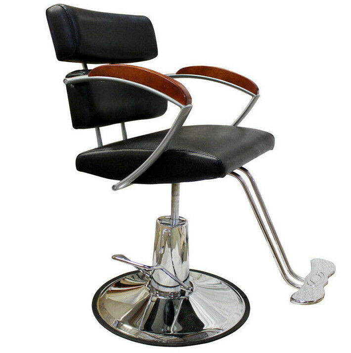 Professional chrome hydraulic barber chair styling hair for A and s salon supplies