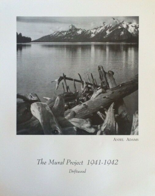 Ansel adams the mural project driftwood poster 16 x 20 ebay for Ansel adams mural