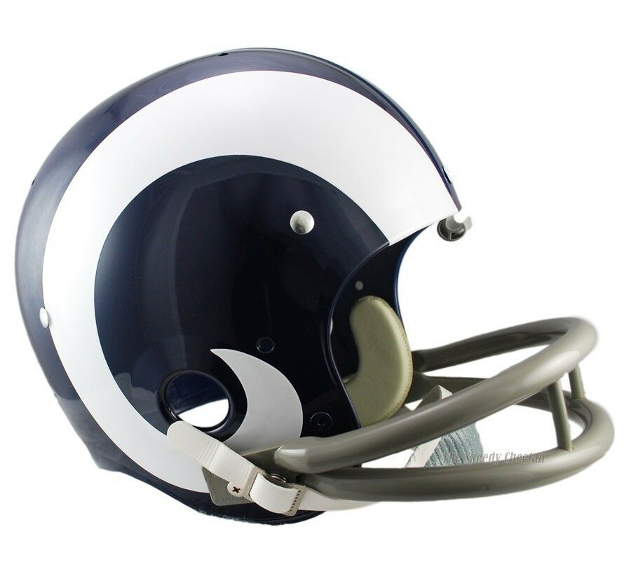 St Louis Rams 65 72 Tk Throwback Full Size Football