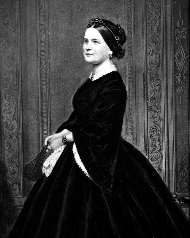 Mary Todd Lincoln First Lady Wife Of Abraham Lincoln 8 X