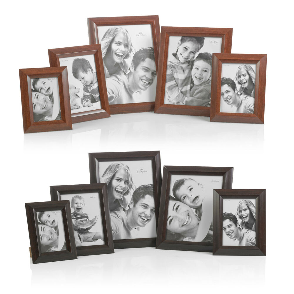 free standing or wall hanging wooden picture photo certificate frames home gifts ebay. Black Bedroom Furniture Sets. Home Design Ideas