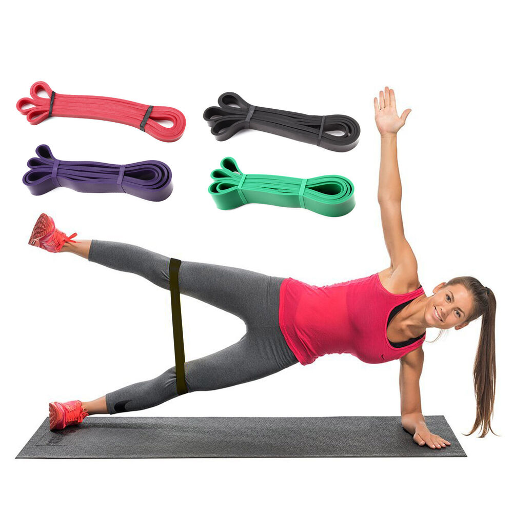 Exercise Bands Loops: Resistance Bands Loop Crossfit Strength Training Fitness