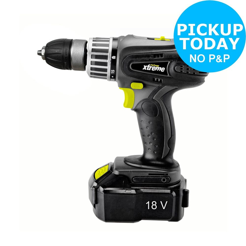 challenge xtreme ni cd cordless hammer drill 18v from. Black Bedroom Furniture Sets. Home Design Ideas