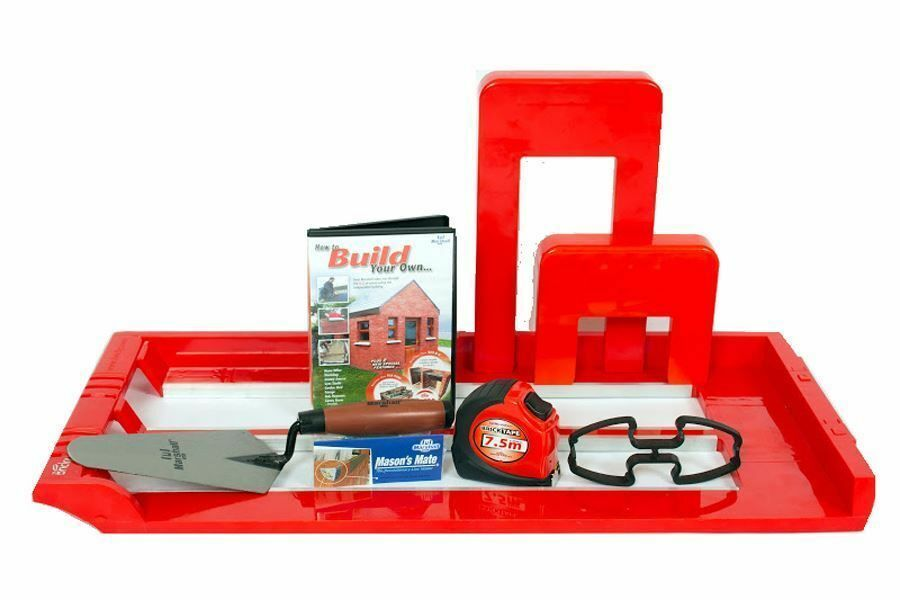 bricky pro professional wall building mortar application tool kit with dvd ebay. Black Bedroom Furniture Sets. Home Design Ideas
