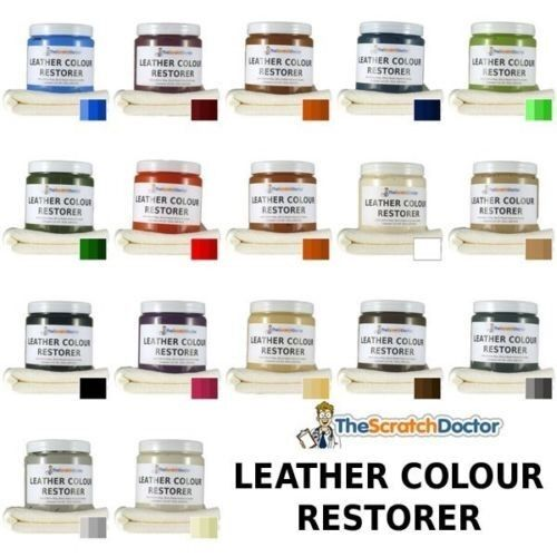 Leather Sofa Paint Kit: Leather Dye Color Restorer. For Faded And Worn Leather
