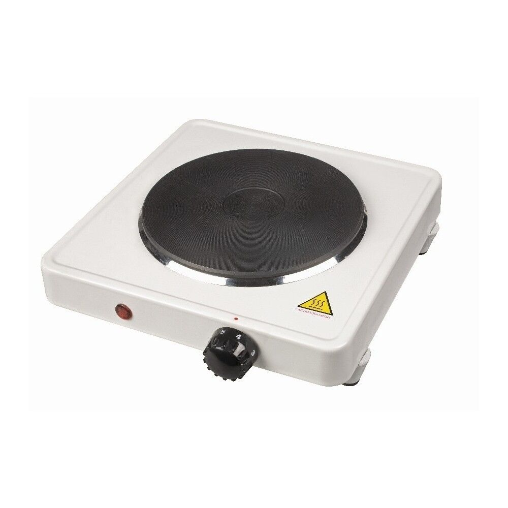 Portable Electric Cooker ~ Single electric hob hotplate cooker cooking ring portable