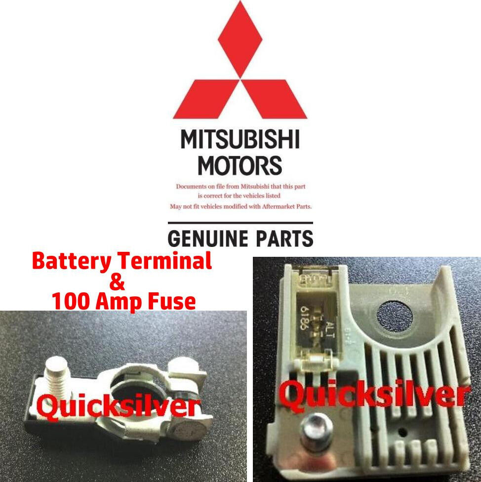2002 2005 mitsubishi lancer evo positive battery terminal