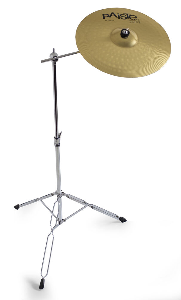 paiste 14 101 crash cymbal tornado boom cymbal stand 6869983429765 ebay. Black Bedroom Furniture Sets. Home Design Ideas