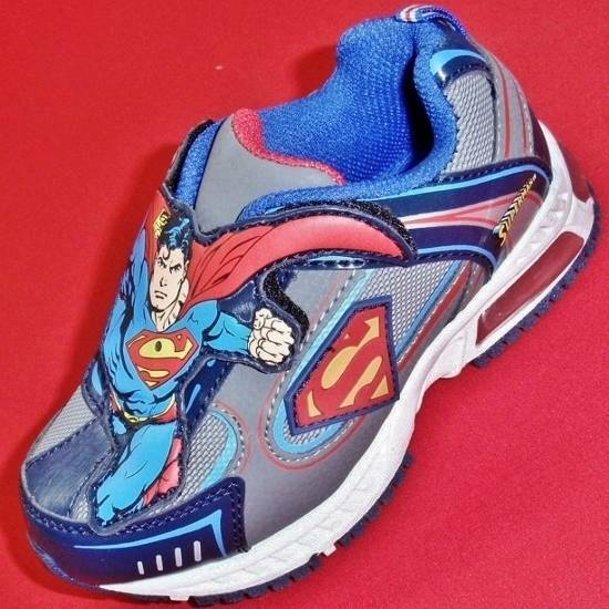 new boy s toddler s lights superman athletic casual