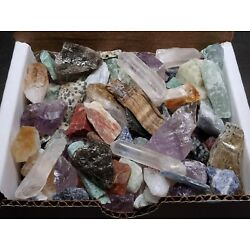 Kyпить Miniatures Mineral Collection 1/2 lb Mix Natural Gems Crystals Specimens на еВаy.соm