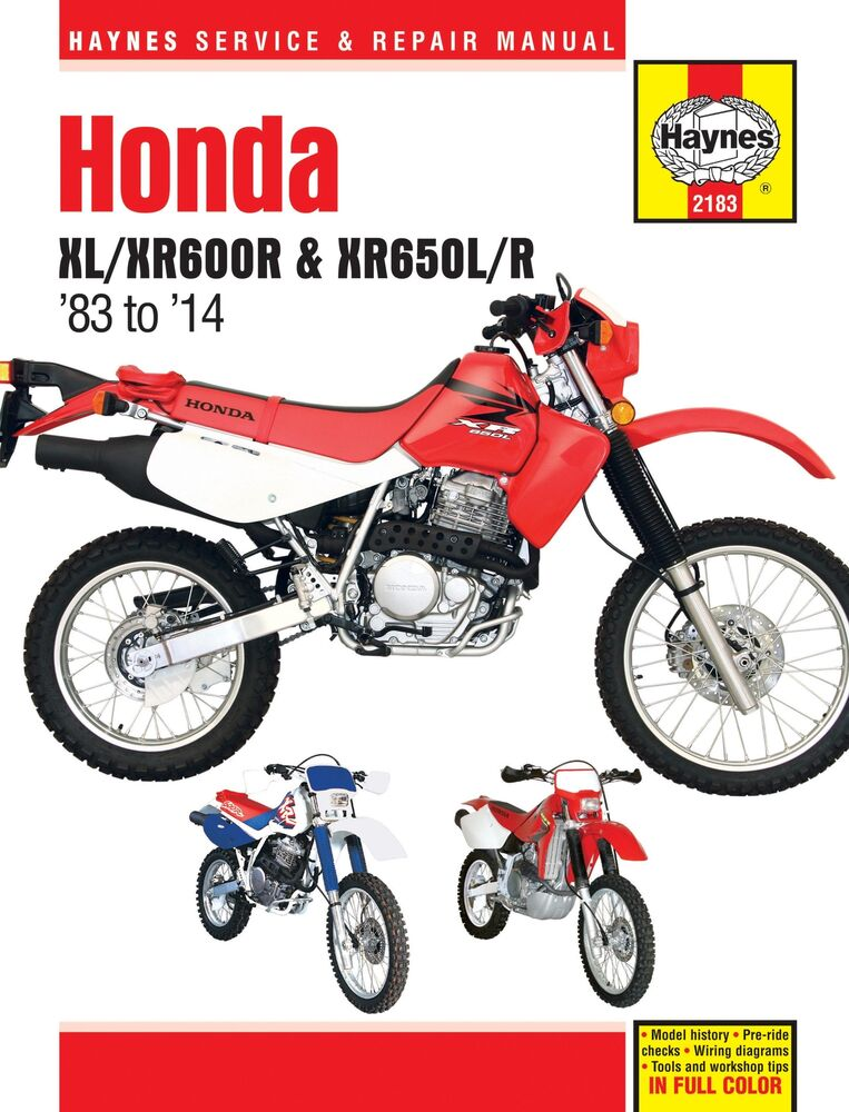 Honda Xr400 Wiring Diagram Pdf