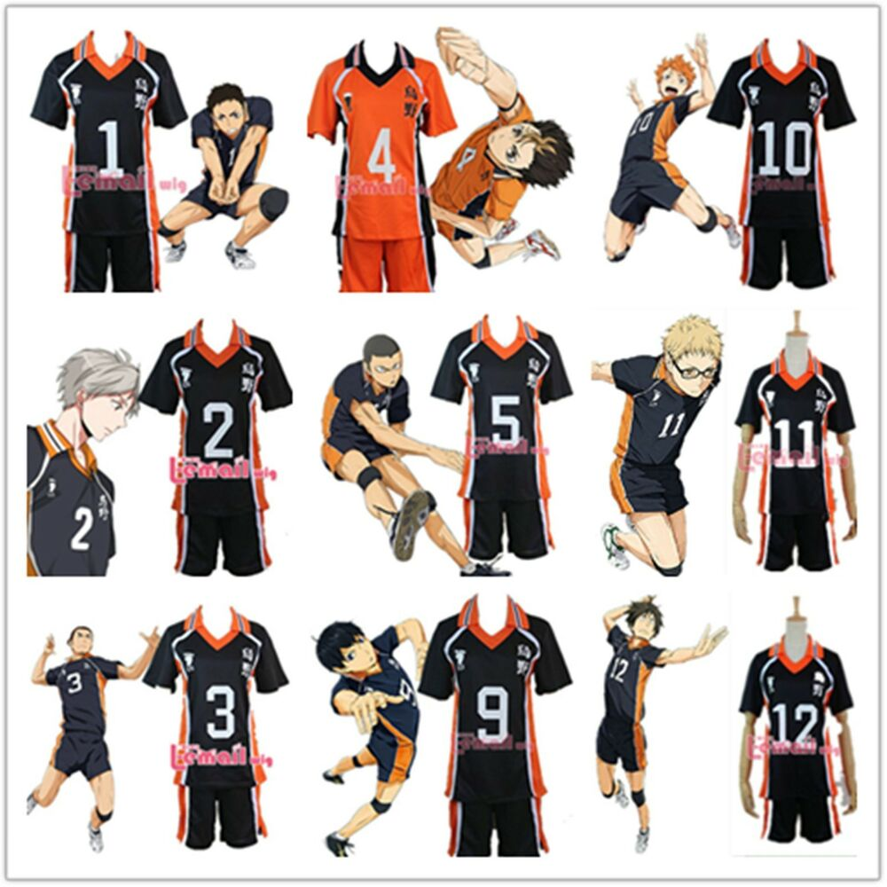 USA Ship Haikyuu!! Karasuno High School Uniform Jersey