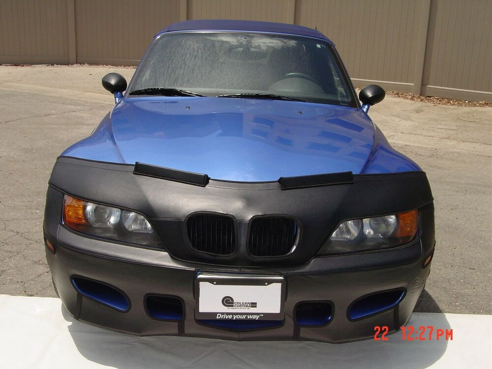 Colgan Front End Mask Bra 2pc Fits Bmw Z3 3 2 98 2002 With License Plate Ebay