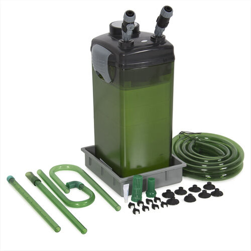 Fish canister external 5 stage filter pump for aquarium for External fish pond filters